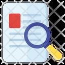 Exam Search File Search Keyword Search Icon