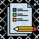 Exam Test Icon