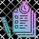 Test Exams Document Icon
