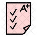 Examination Education Study Icon