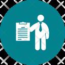 Examination Human Activitiy Icon