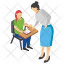 Examination Hall Reading Student Learning Student Icon