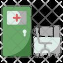 Examination Room Doctor Hospital Icon