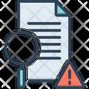Examined Investigate Inspect Icon