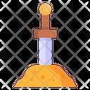 Excalibur Sword Weapon Knife Icon