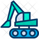 Digger Mining Equipment Icon