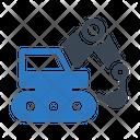 Crane Machinery Construction Icon