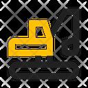 Excavator Digger Icon