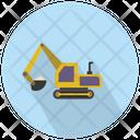 Crawler Excavator Excavator Construction Icon