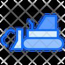 Excavator Caterpillar Digger Icon