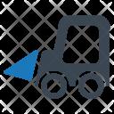 Build Construction Excavator Icon