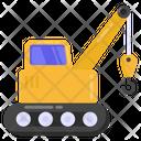 Excavator Lifter Icon