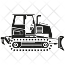Excavator Loader Icon