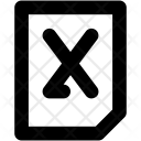Excel File Microsoft Icon