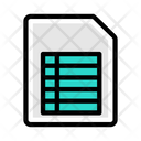 Excel Sheet Icon