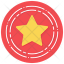 Star Badge Excellence Star Emblem Icon