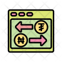 Exchange Conversion Currency Icon