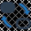 Transfer Connectivity Exchange Icon