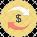 Exchange Convert Dollar Icon