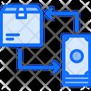 Exchange Payment Box Icon
