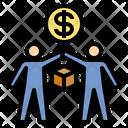 Exchange Goods Money Icon