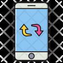 Exchange Transfer Mobile Icon