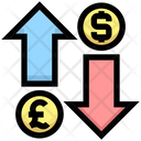 Exchange Money Pound Icon