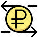 Exchange Foreign Currency Ruble Icon
