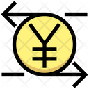 Exchange Foreign Currency Yen Icon