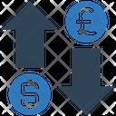 Exchange Money Dollar Icon