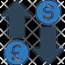 Exchange Money Pound Icon