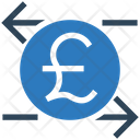 Exchange Foreign Currency Pound Icon