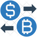 Exchange Dollar Bitcoin Icon