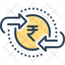 Exchange Money Transfer Icon