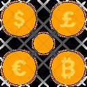Exchange Euro Pound Icon