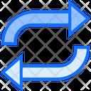 Exchange Arrow Double Icon