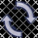 Exchange Arrow Directions Icon