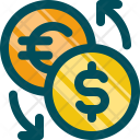 Exchange Coin Money Icon