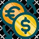 Exchange Coin Money Icon