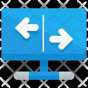 Exchange Screen Network Icon