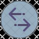 Data Exchange Arrows Icon