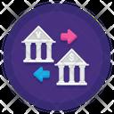 Iremittance Exchange Bank Exchange Foreign Currency Icon