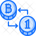 Bitcoin Coin Exchange Icon