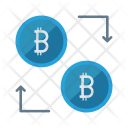 Exchange Bitcoins Money Icon