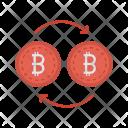 Exchange bitcoin Icon