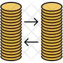 Exchange Coin Stacks Icon