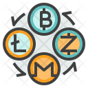 Exchange Cryptocurrency Icon