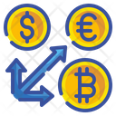 Coin Arrow Exchange Icon