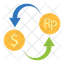 Exchange Currency Convert Money Money Conversion Icon