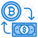 Bitcoin Cryptocurrency Money Icon